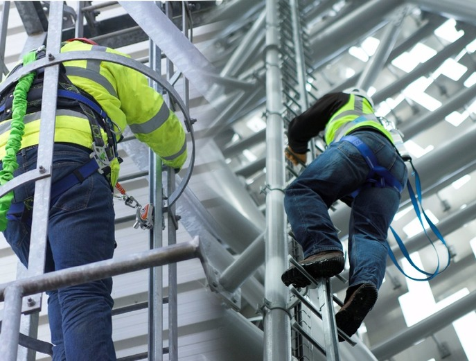 Fixed Height Safety Equipment Vertical or Horizontal Access